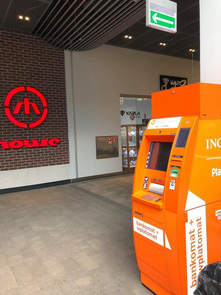 Bankomat ING