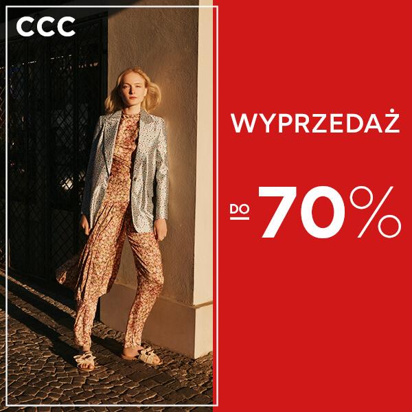 Wielka letnia wyprzedaż w CCC! Teraz jeszcze więcej niższych cen!