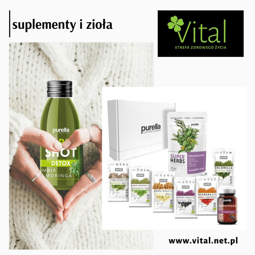 Produkty Purella Superfoods wspomogą zdrowie Twojego organizmu - Vital