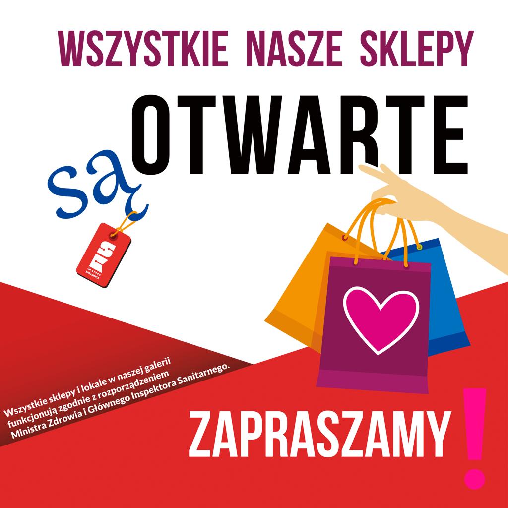 Wszystkie sklepy ponownie otwarte od 4 maja 2021